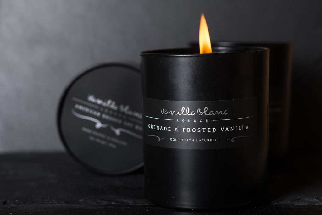 Grenade & Frosted Vanilla Candle
