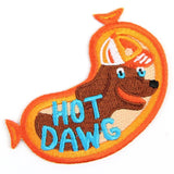Hot Dawg Iron On Patch
