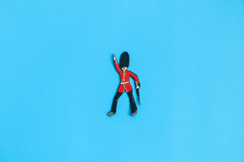 Dancing Queen's Guard Iron On Patch (UK Exclusive)