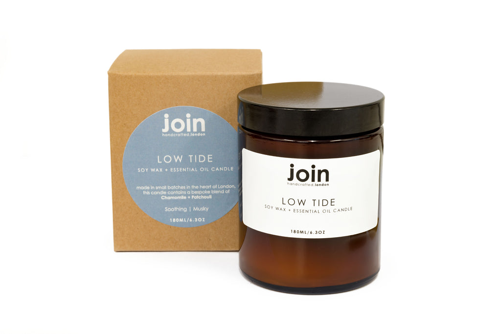Low Tide Soy Wax + Essential Oil Candle
