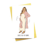 Lovely Bey-by Bumps Greeting Card
