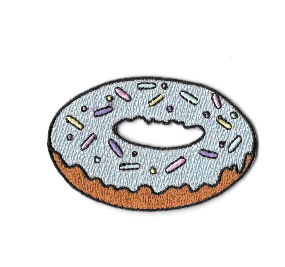 Pastel Donut Iron On Patch
