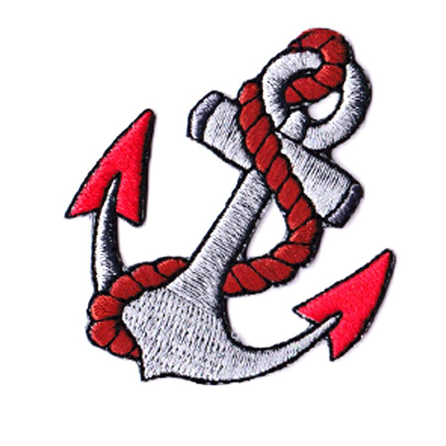 Anchor Tattoo Iron On Patch