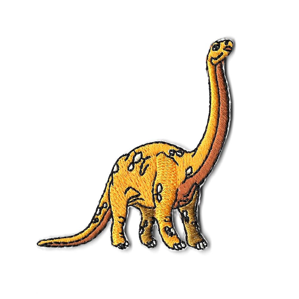 Brachiosaurus Iron On Patch