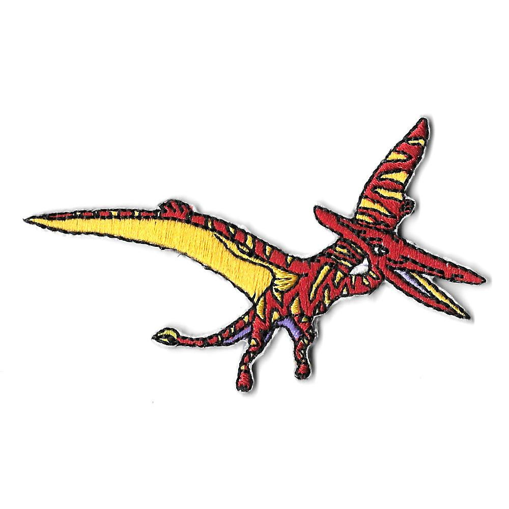Pterodactyl Iron On Patch