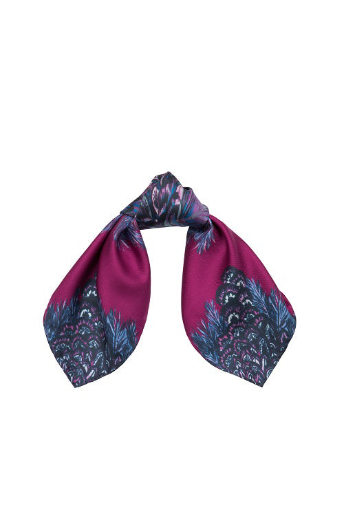 Barjis Bazanty Neckerchief Purple
