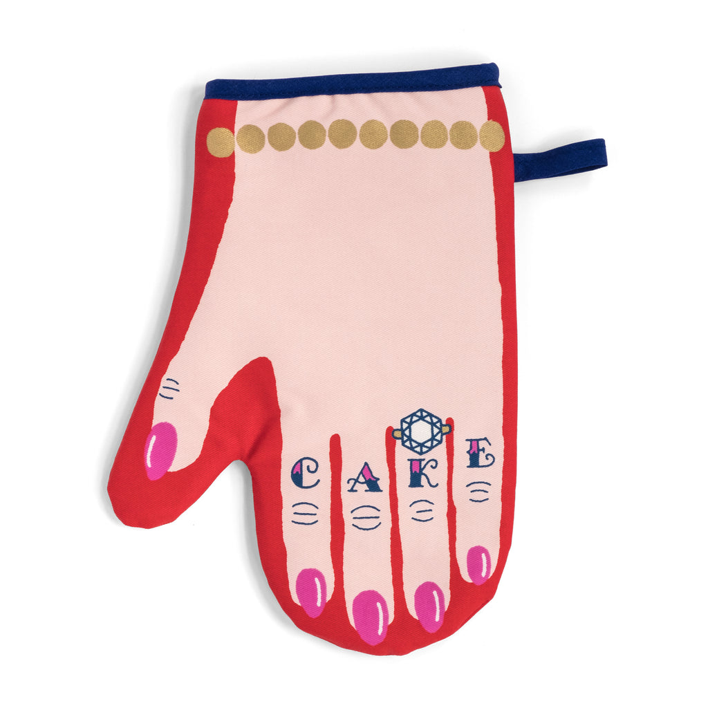 Love Cake Single Oven Mitt