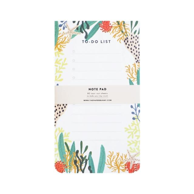 Wild Sea To-Do List Notepad