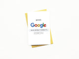 Who Needs Google? Greeting Card