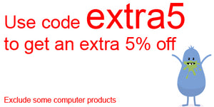 Use code extra5 to get an extra 5% off. Excludes some computer products.