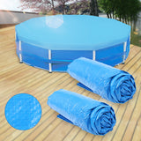 10' 12' Round Spa Hot Tub Swimming Pool Outdoor Dust Roller Cover Blanket Canopy