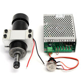 500W CNC Machine Router ER11 Spindle Motor + Speed Governor + 52mm Clamp Kit Set