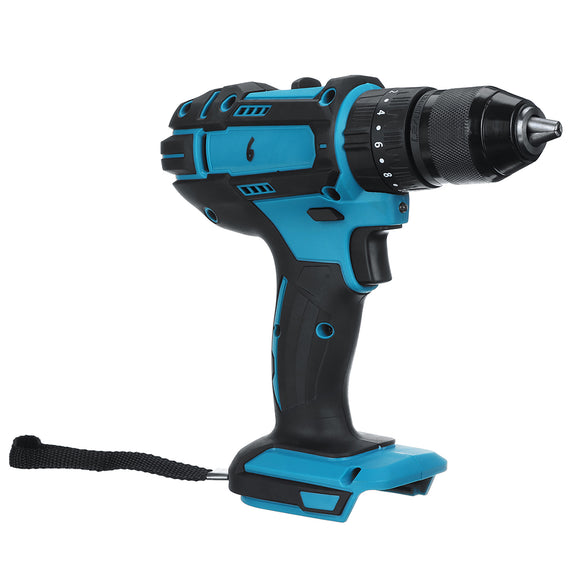 18V 2 Speed Cordless Electric Impact Drill Driver + LED Light For Makita Battery