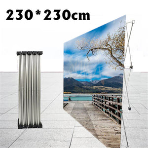 Flower Wall Folding Display Stand Frame Backdrop Exhibition Wedding Show Banner