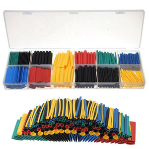 280pcs 2:1 Heat Shrink Tube Tubing Sleeve Sleeving Wire Cable Wrap Kit With Box