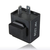2 pin 12V Motorcycle Bike Flasher Relay Resistor for Led Turn Signal Indicator