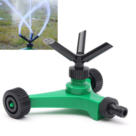 360 Rotating Garden Grass Lawn Sprinkler Irrigation Watering Nozzle Spray Head