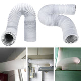 3M 5'' Dia PVC Flexible Portable Ducting Air Conditioner Exhaust Hose Vent Tube