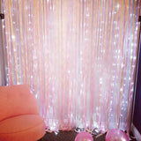 3M x 3M 300 LED Festival Christmas Wedding Party Curtain String Fairy Lamp Light