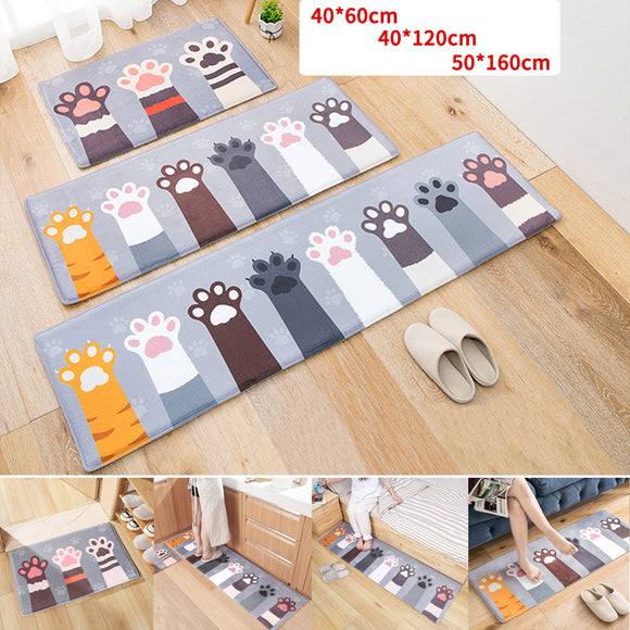 Cartoon Anti-Slip Carpet Floor Mat Rug Dining Room Bedroom Door Bathroom Bath