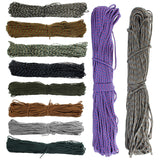 300FT 91m Strong 7 Strand Core Lanyard Mil Paracord Parachute String Rope Cord