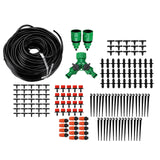 40m Hose Garden Watering Water Drip Kit Micro Sprinkler Spray Irrigation System