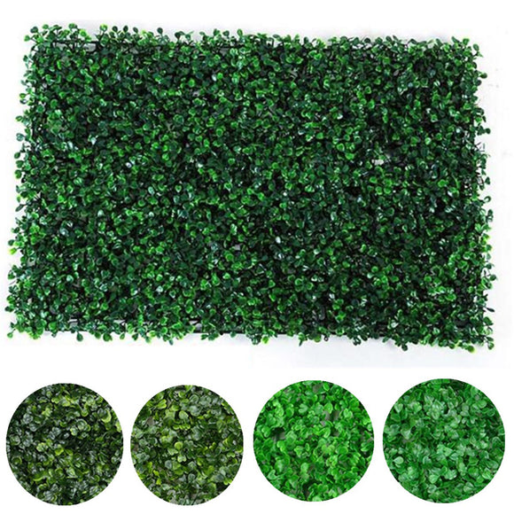 40x60cm Artificial Fake Vertical Plant Foliage Grass Wall Fence Garden Panel Mat