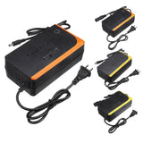DC 48V 2A Lithium Li-Ion Battery Charger Electric Bike Scooter Motorcycle E-bike
