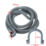 4M Universal Washing Machine Dishwasher Drain Outlet Hose Pipe Extension Kit
