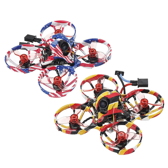 Eachine US65 DE65 PRO 65mm Crazybee X 1-2S Brushless Whoop FPV Racing Drone BNF