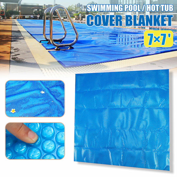 210cm 7' 600μm Spa Hot Tub Swimming Pool Thermal Solar Blanket Bubble Cover