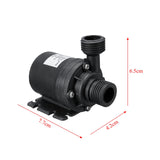 800L/H 12V 5M Solar Brushless Motor Hot Water Circulation System Booster Pump
