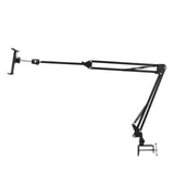 360 Flexible Desk Desktop Table Bed Long Arm Tablet Phone Holder Stand Clamp