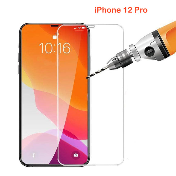 9H Tempered Glass Screen Protector Guard for Apple iPhone 12 PRO Front