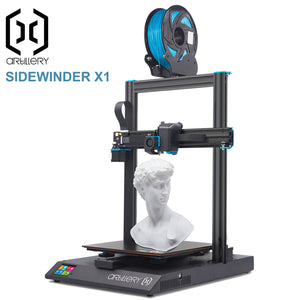 Artillery Sidewinder X1 V4 Version 4 Touch Screen Resume Print 3D Printer Kit SW-X1