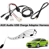 AUX In Audio & USB Charging Cable Adapter Ford Falcon Territory BA BF SX SY SYII