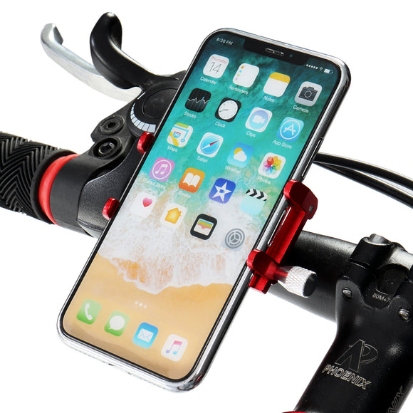 Universal Motorcycle Bike Bicycle Pram Cradle Handlebar Phone GPS Holder Mount
