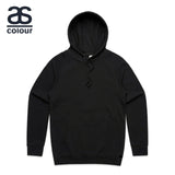 AS Colour Hoodie Blank Plain Print Hooded Sweatshirt Sweater Men Supply Hood 5101 Black