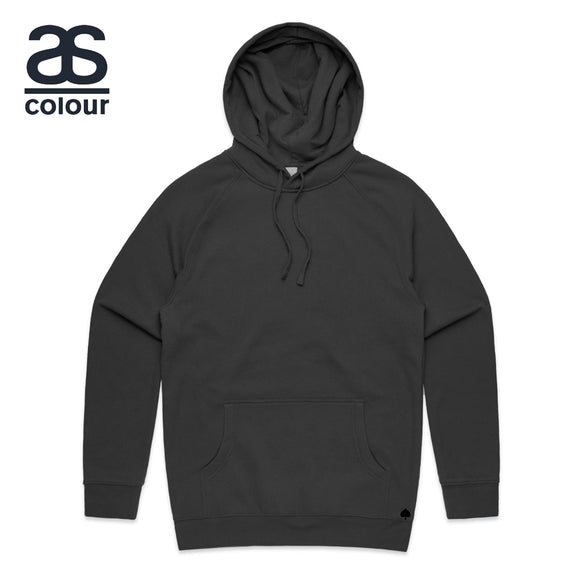 AS Colour Hoodie Blank Plain Print Hooded Sweatshirt Sweater Men Supply Hood 5101 Coal