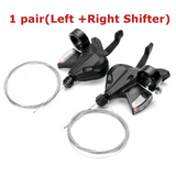 Bicycle 3 x 8 Speed Shift Lever Shifter for Shimano Alivio Acera SL-M310 Altus