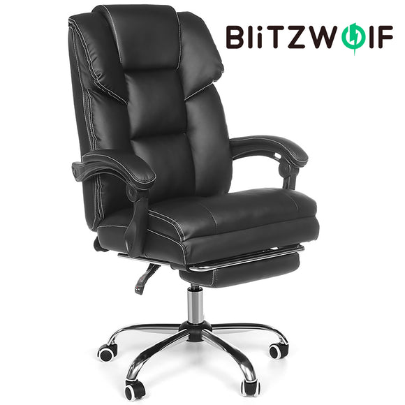 BlitzWolf Computer Reclining Recliner Executive Office Chair Seat with Footrest BW-OC1