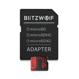 BlitzWolf BW-TF2 Class 10 U3 Micro SD SDHC SDXC TF Memory Card with Adapter