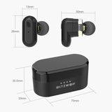 Blitzwolf TWS Wireless Bluetooth 5.0 Stereo Super Bass Earphone Earbud + Charger with Mic BW-FYE7