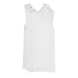Bonds 3 Pack Boys Kids Chesty Comfy Cotton Underwear Vest Singlets Tank Top UYG33A White