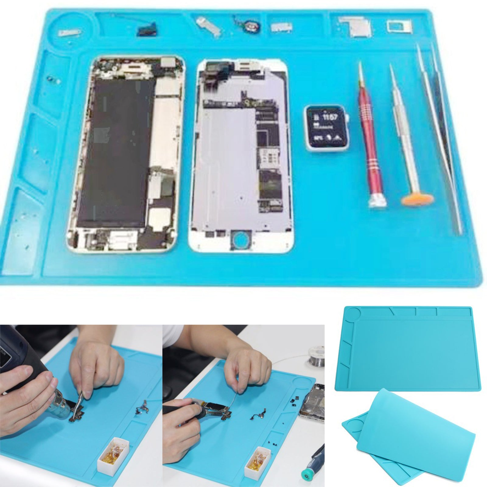 Image result for Silicone Soldering Repair Mat