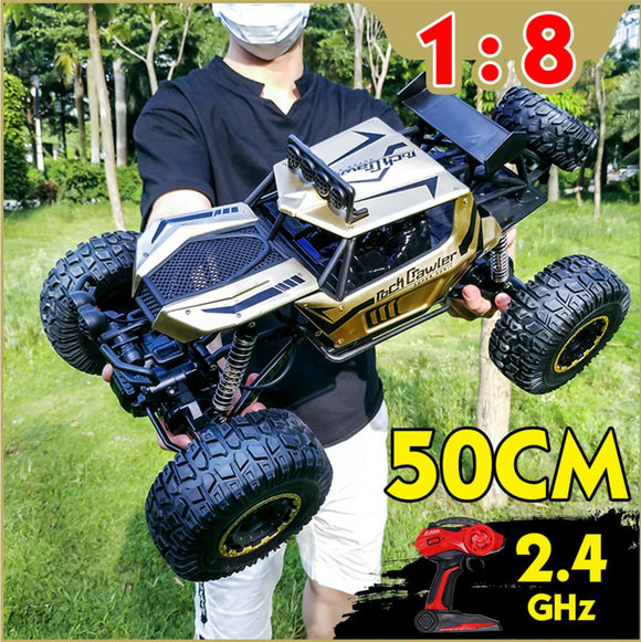 609E Big 1/8 2.4Ghz Electric RC 4WD Car Off Road Rock Crawler Monster Truck RTR