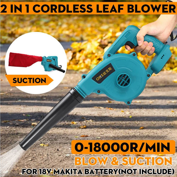 Cordless Electric Battery Computer Garden Air Dust Leaf Blower Vacuum Cleaner