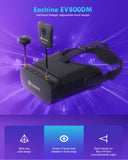Eachine EV800DM 5.8G 40CH HD DVR RC Camera Racing VR Video FPV Drone Goggles