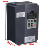 2.2KW 220V 12A Single to 3 Phase PWM Frequency Converter Drive Inverter VFD VSD