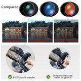 Universal HD 10X Optical Zoom Camera Lens Mobile Cell Phone Monocular Telescope